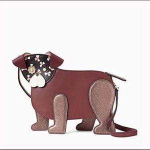 Kate Spade Flower Puppy Dog Purse Crossbody Bag